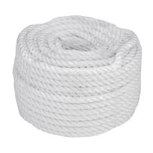 Купить Веревка 10mm / 30m универсальная, белая по лучшей цене 384 грн