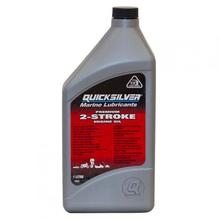 Купить Масло для лодочных моторов 2-х тактное QuickSilver TC-W3 Premium (Mercury), 1 литр по лучшей цене 248 грн
