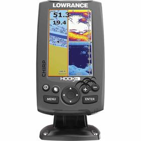 Купить Эхолот/картплоттер Lowrance HOOK-4 по лучшей цене 8989 грн