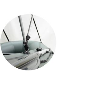 Купить Тент для лодок BARK 210 - 260 см. по лучшей цене 1450 грн