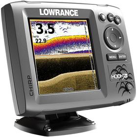 Купить Эхолот Lowrance HOOK-5x по лучшей цене 12963 грн